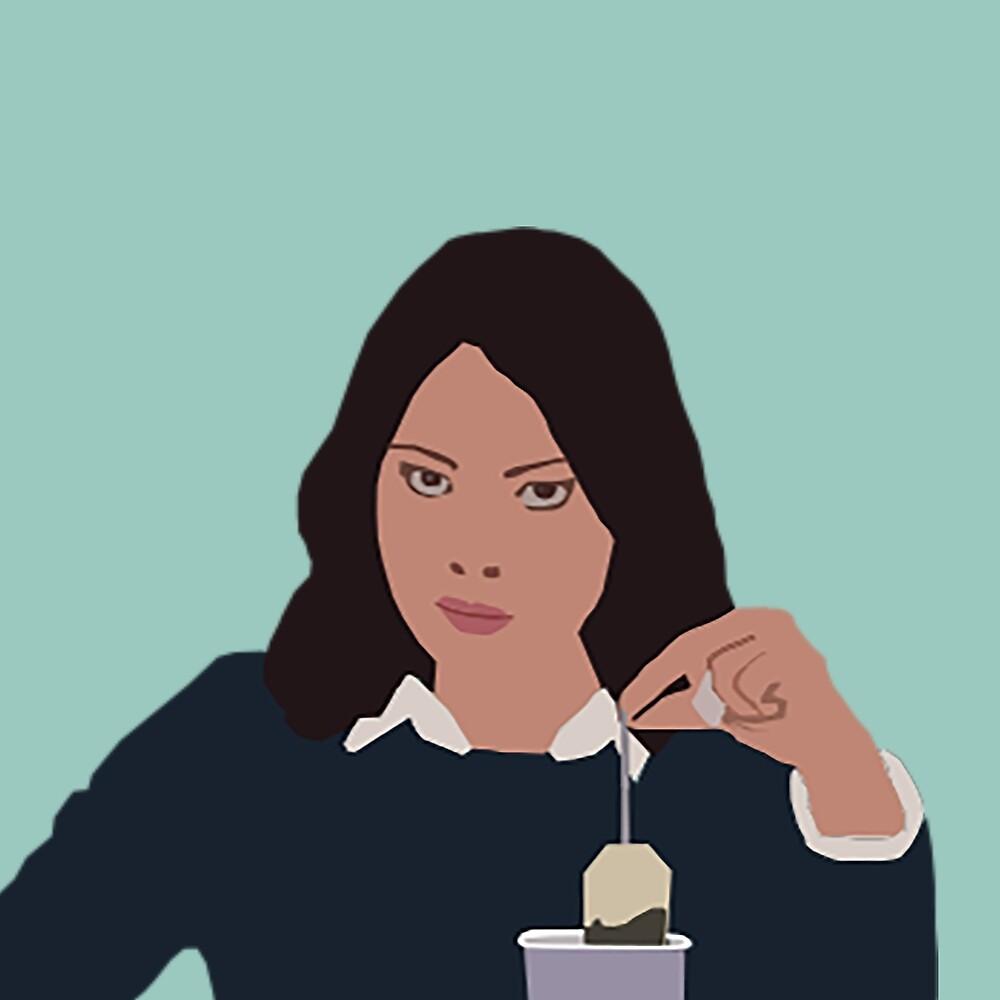 April Ludgate Tea by Hjp23