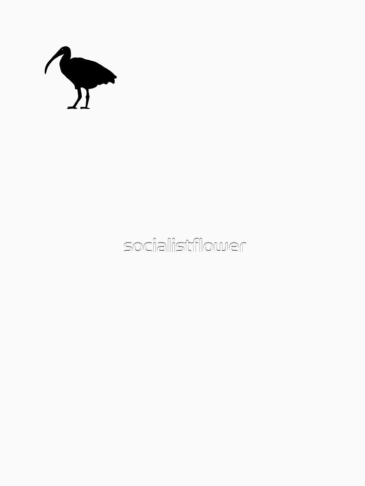 The Bin Chicken by socialistflower