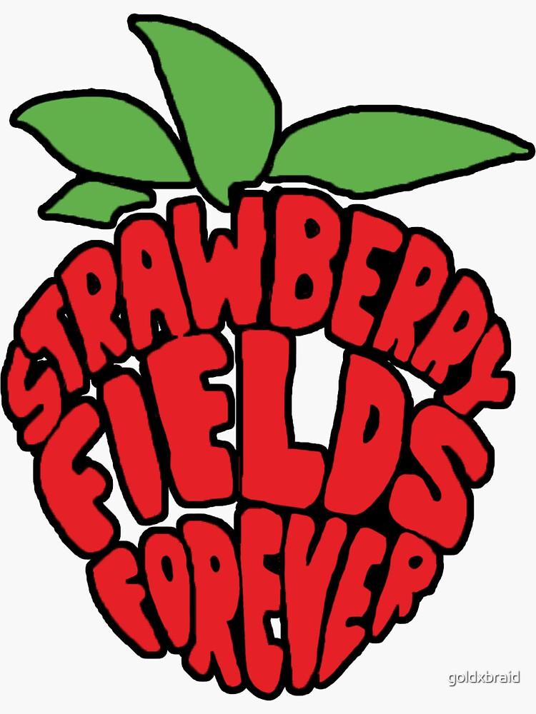 Campos de fresa por siempre de goldxbraid