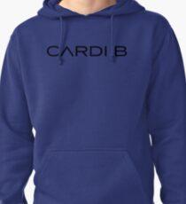 "Cardi B Merch ""Black Logo"" Pullover Hoodie"