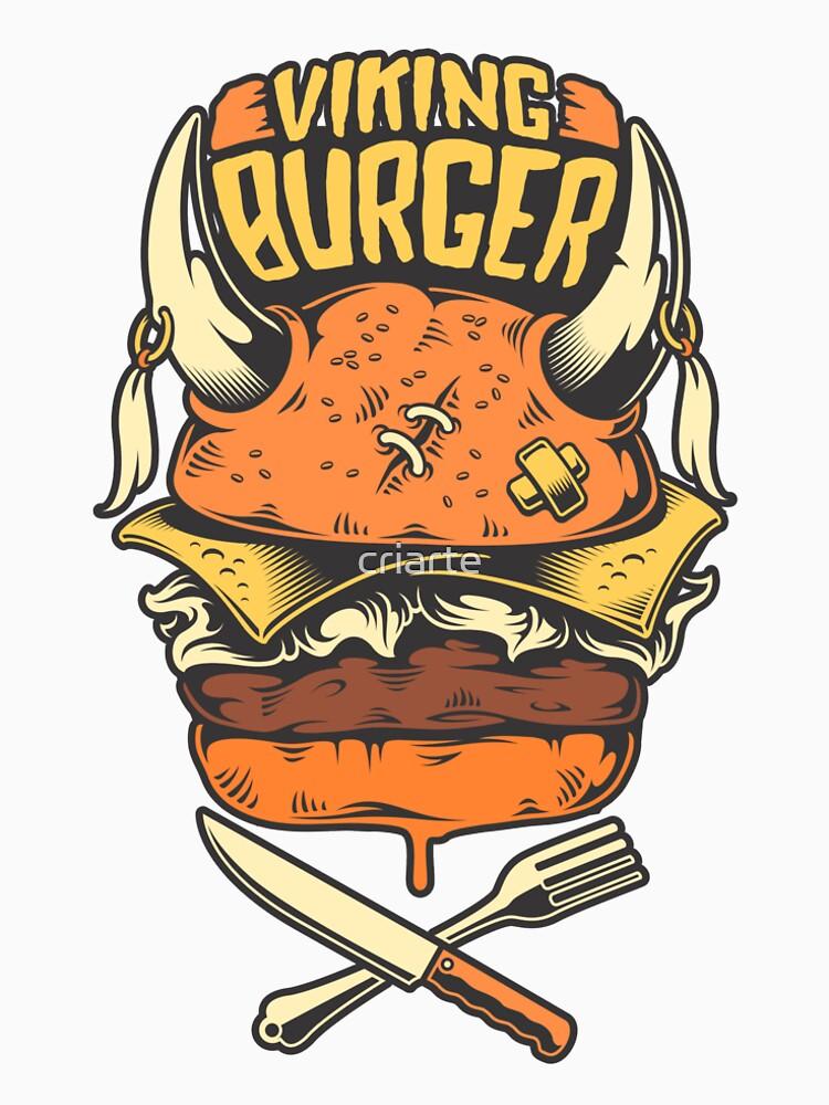 Viking Burger by criarte