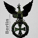 Brandenburg Gate Iron Cross  by edsimoneit