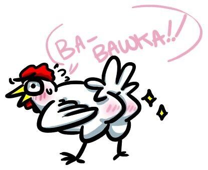 B-Bawka!! Chicken Booty by Pin-eye