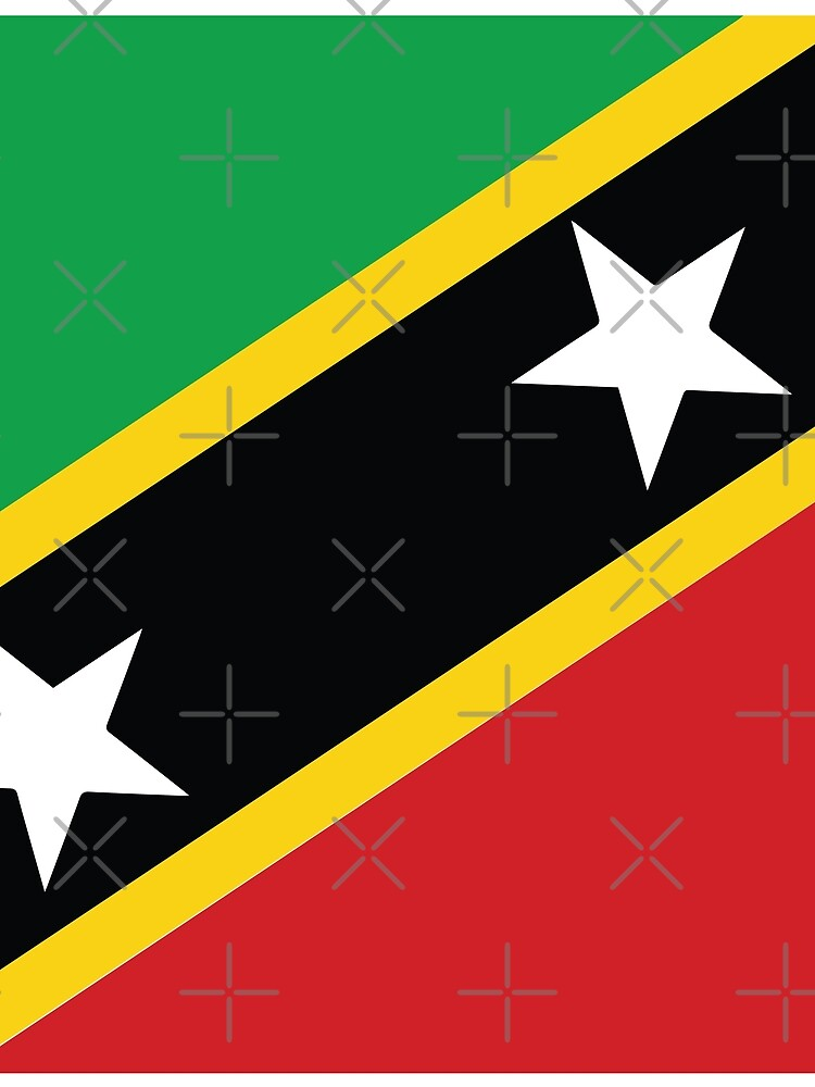 St Kitts and Nevis National Flag by identiti