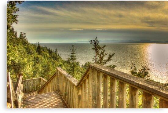 Stairs to sunlight by VisualMemories