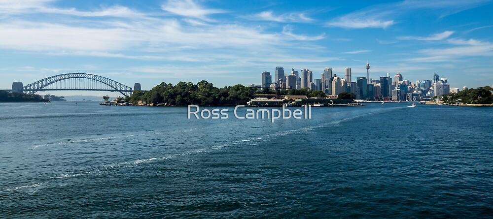 Inner Sydney Harbour by Ross Campbell