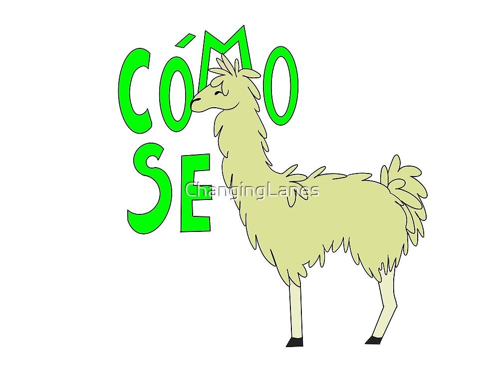 ¿Cómo se llama? spanish pun by ChangingLanes