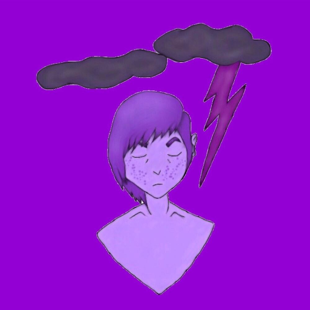 purple dayz  by milkysawyer