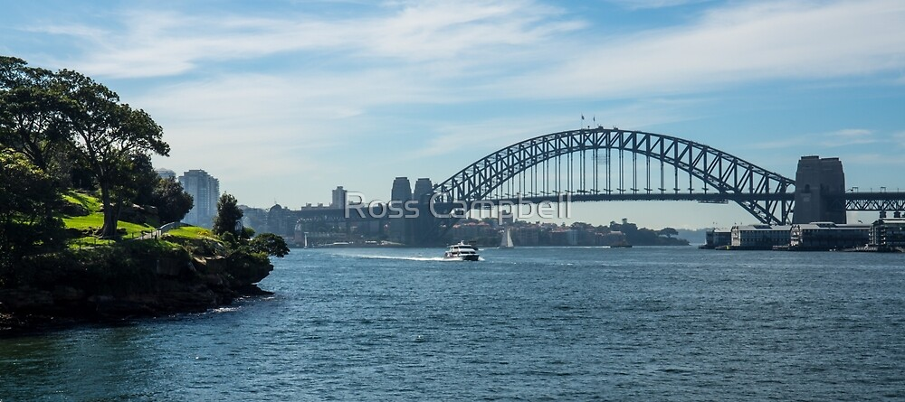 Sydney Harbour Bridge by Ross Campbell