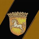 Hanover Prancing white horse by edsimoneit
