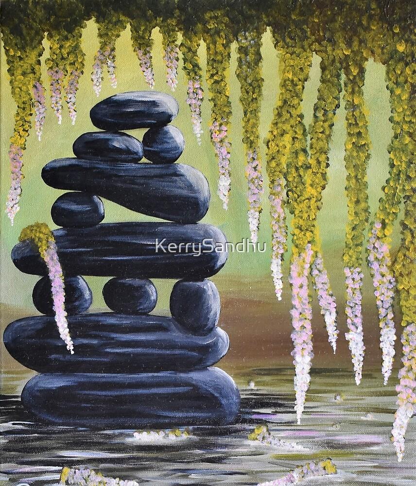 Zen Pond by KerrySandhu