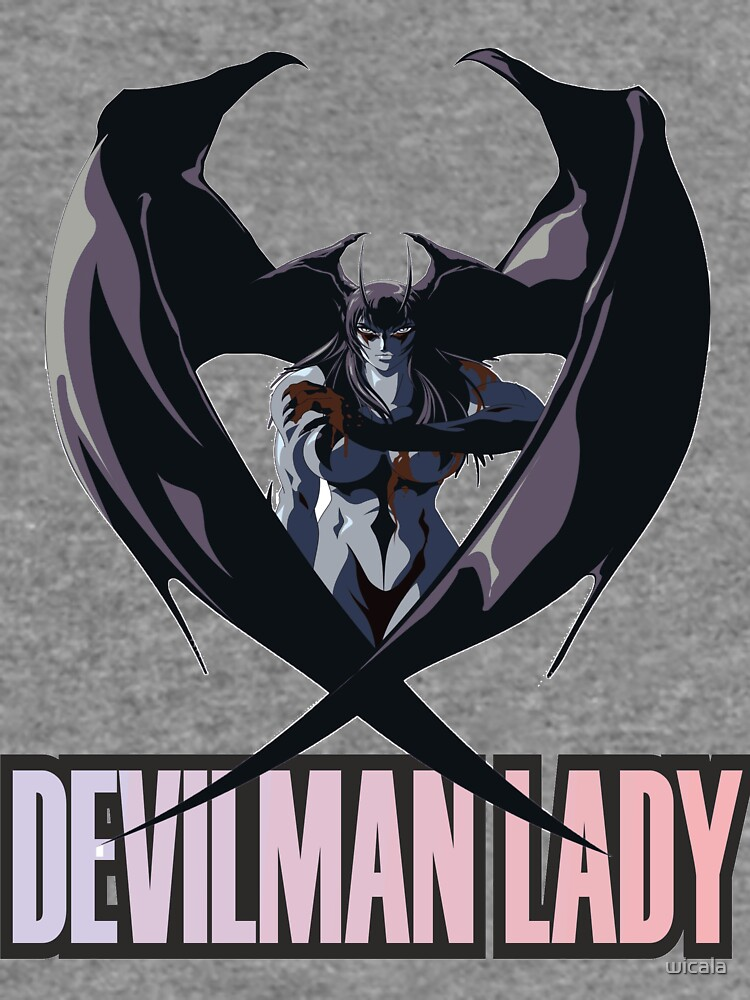 DEVILMAN CRAYBABA LADY by wicala