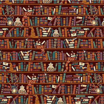 Bookshelf  by majuikopol