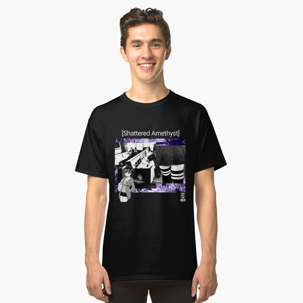 Shattered Amethyst Classic T-Shirt Front