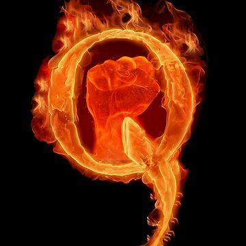 Solidarity Combustion Q  by TrumpQAnon