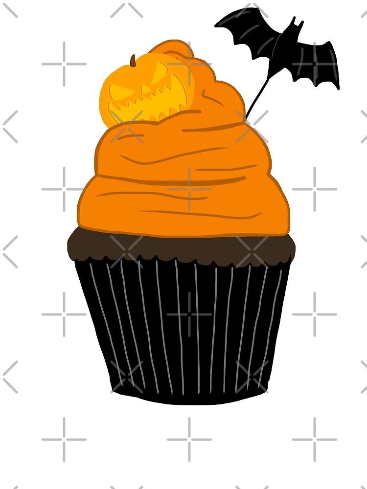 Halloween Cupcake by Noelle Herrera