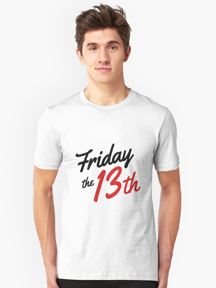 Friday the 13th Unisex T-Shirt Front