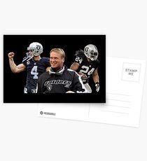 Oakland Raiders Gruden Carr Lynch Postcards