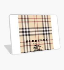 Burberry red devil Laptop Skin