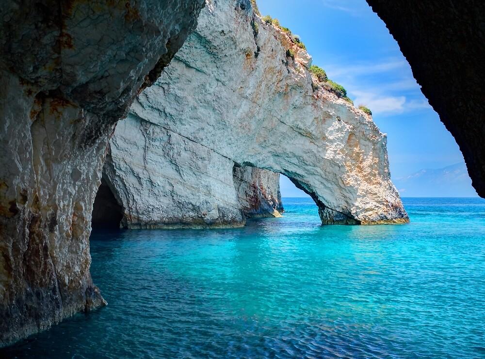 Tropical Greek Island by newburyboutique