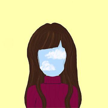 sky girl blue - yellow by NajlaaSA