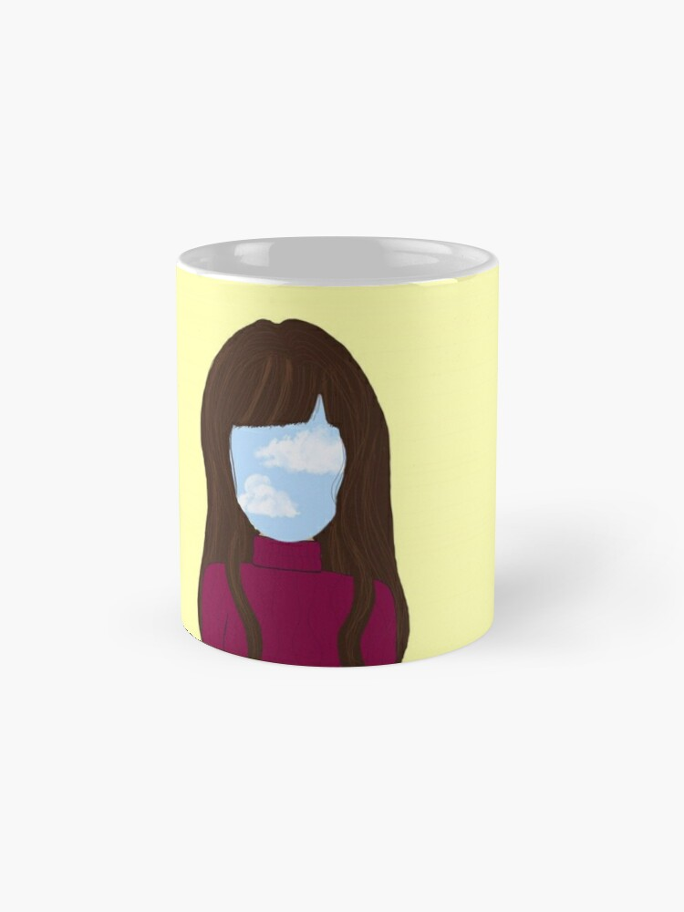 Alternate view of sky girl blue - yellow Standard Mug