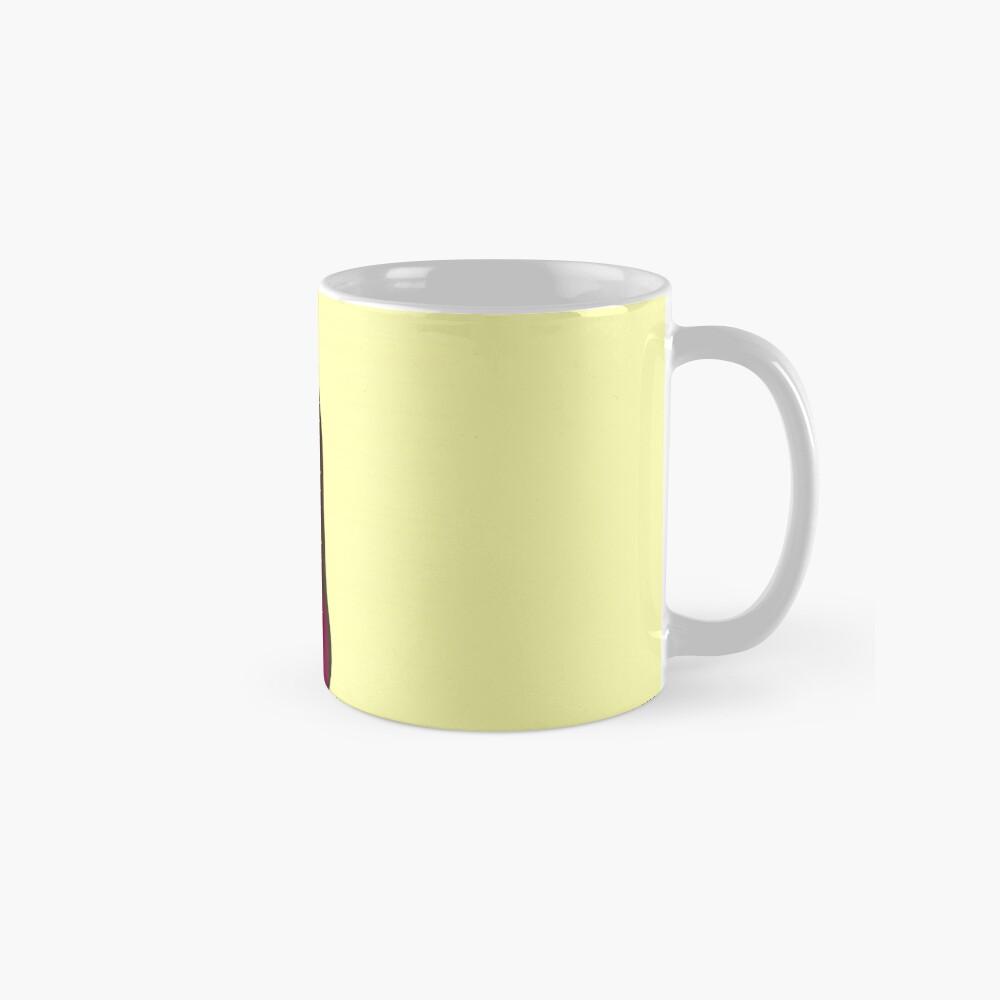sky girl blue - yellow Standard Mug