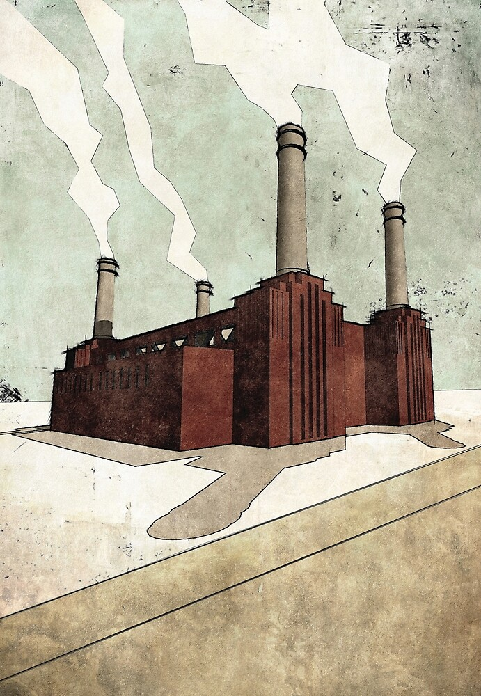 Battersea Power Station by BANTAM-ARTS