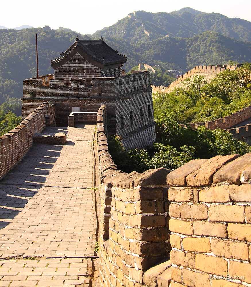 Great Wall of China - Mutianyu Section by Mark Bolton