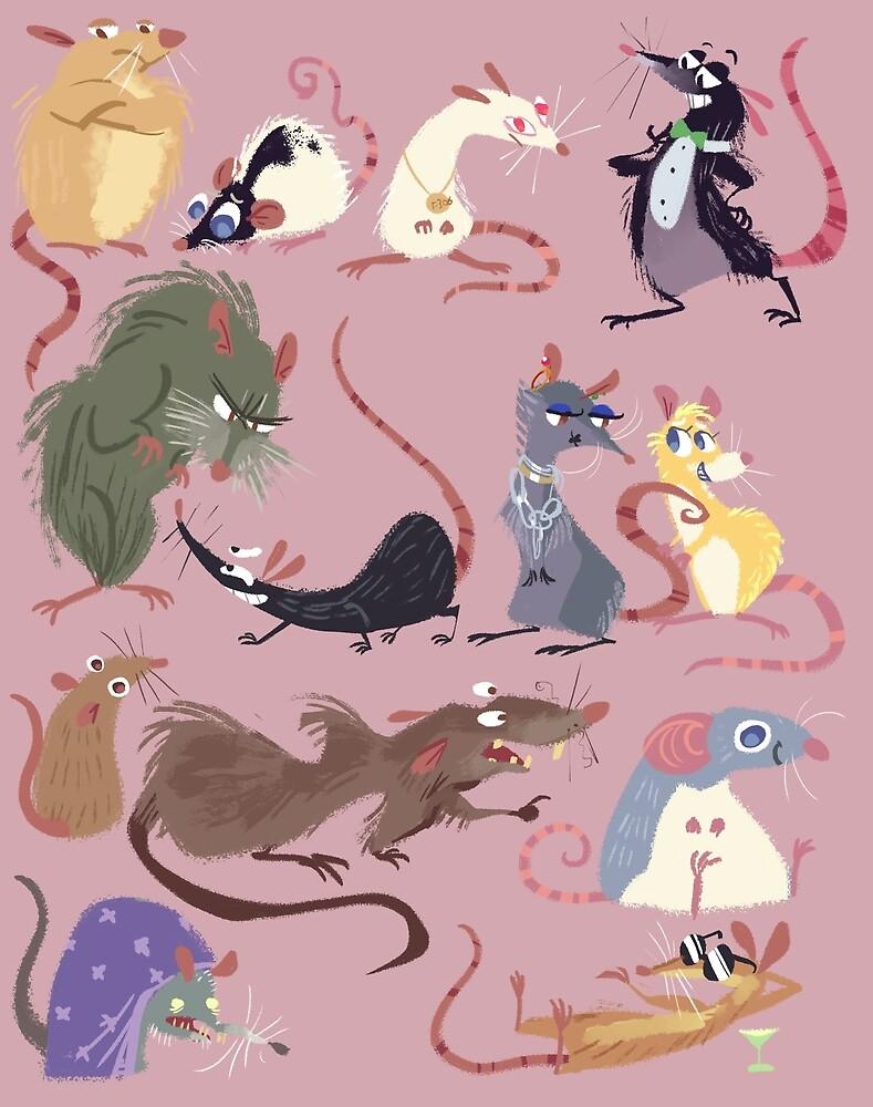Rat Parade by Bedupolker