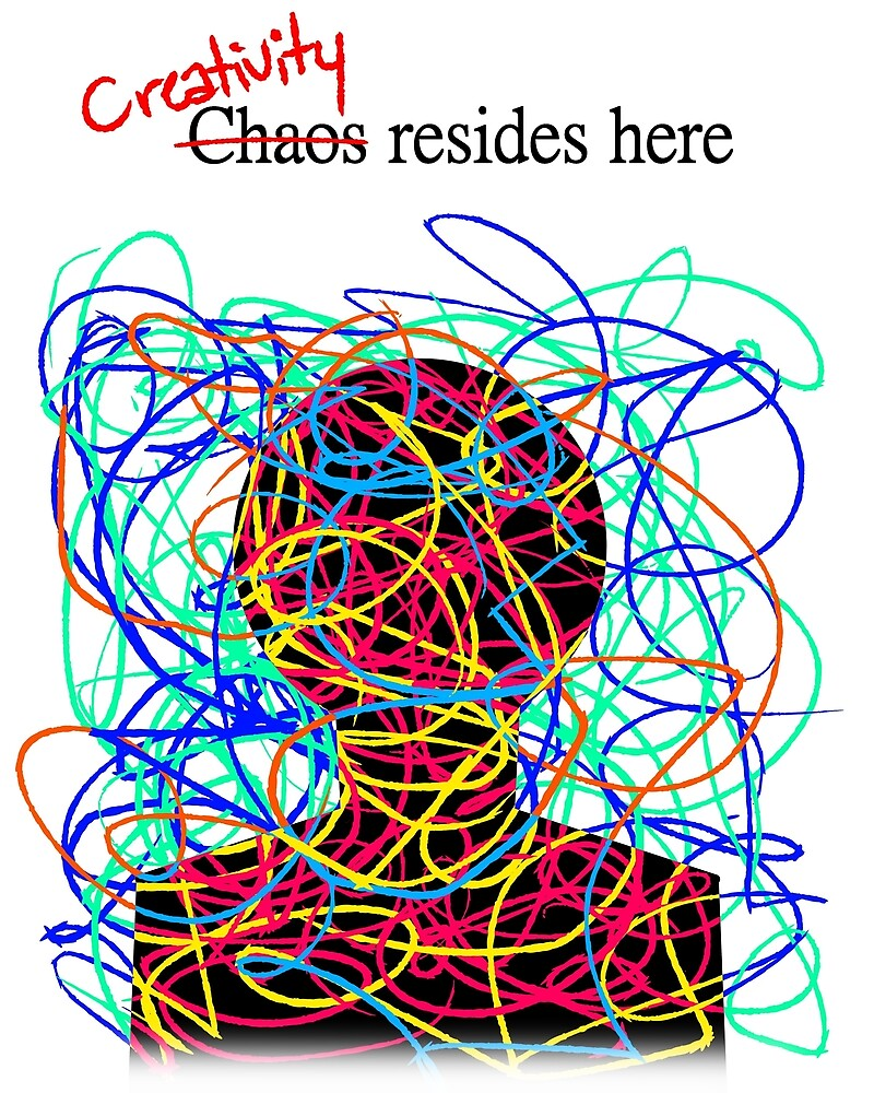 Chaotic Creativity by Hyartem
