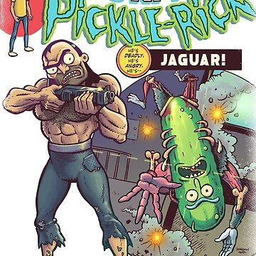 Pickle vs Jag (Dark colour tee) by donovanalex