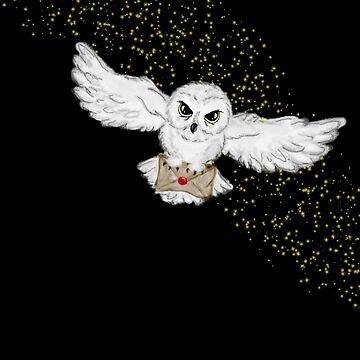 Owl Flight Tote Bag by ShenaLeonard