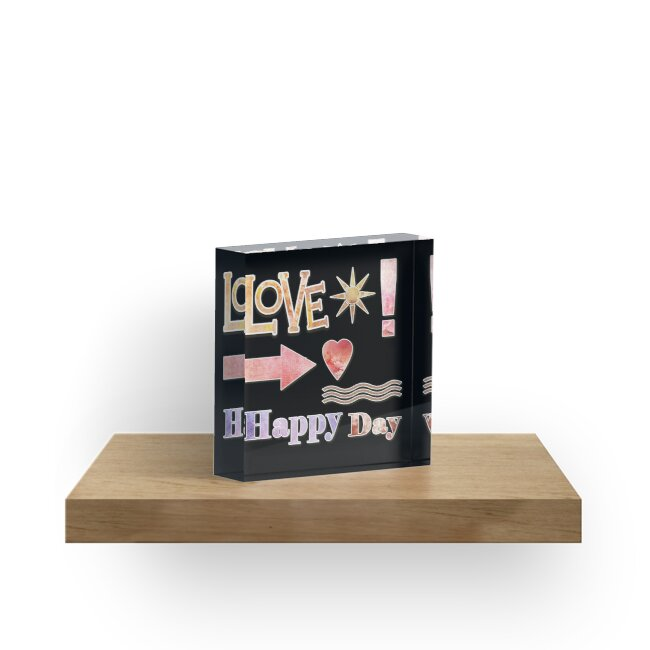 Cool Casual Gifts | Love | Happy Day by Gascondi