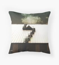 moveable ends Throw Pillow