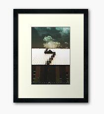 moveable ends Framed Print