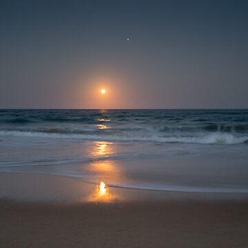 Moonrise at Mylestrom by colinsart