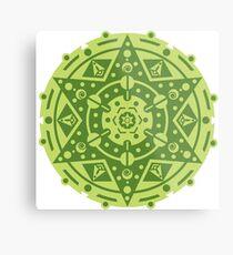 Crop Circle Metal Print