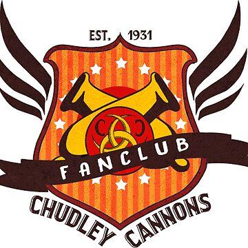 Chudley Cannons Fanclub Badge by Tyeth