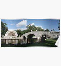 Mineral Palace Park Bridge Poster