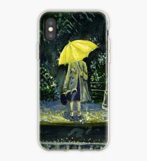 Vinilo o funda para iPhone Amarillo paraguas parte 2