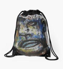 Face, Bernard Lacoque-121 Drawstring Bag