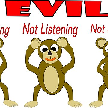 Three Wise Monkeys by biglnet