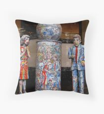 Globel Unity In The Work Place Throw Pillow