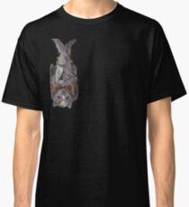 Bat Hanging Off Shoulder . Classic T-Shirt