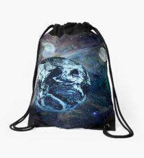 In Orbit Drawstring Bag