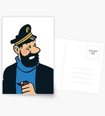 Captain Haddock Postcards
