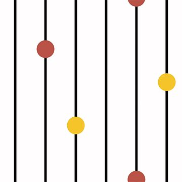 Modern abstract geometric striped background by alijun