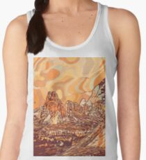 Abstract mountains Women's Tank Top