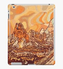 Abstract mountains iPad Case/Skin